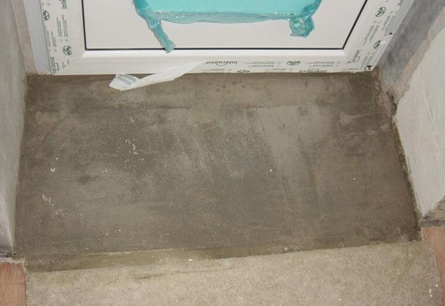 порожек из бетона