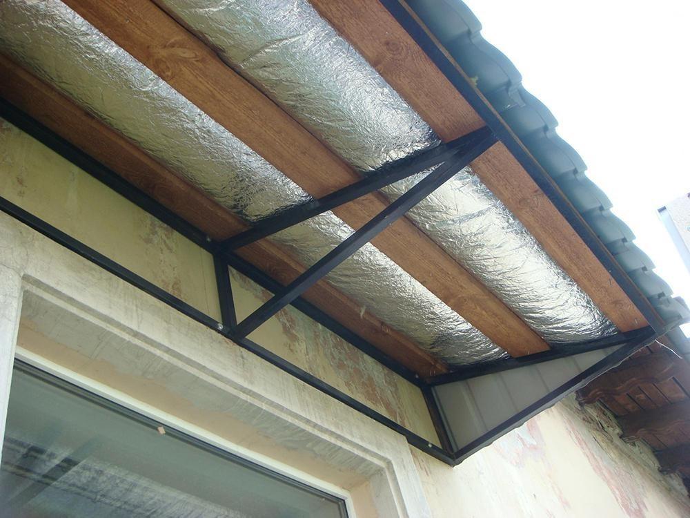 Шумоизоляция крыши и козырька балкона своими руками — пошаговая инструкция с фото и описанием