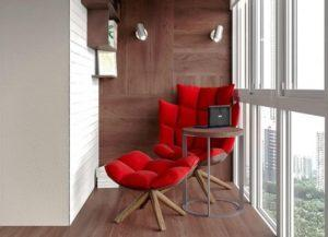От комнаты отдыха до спортивного зала - идеи необычного и функционального дизайна балкона