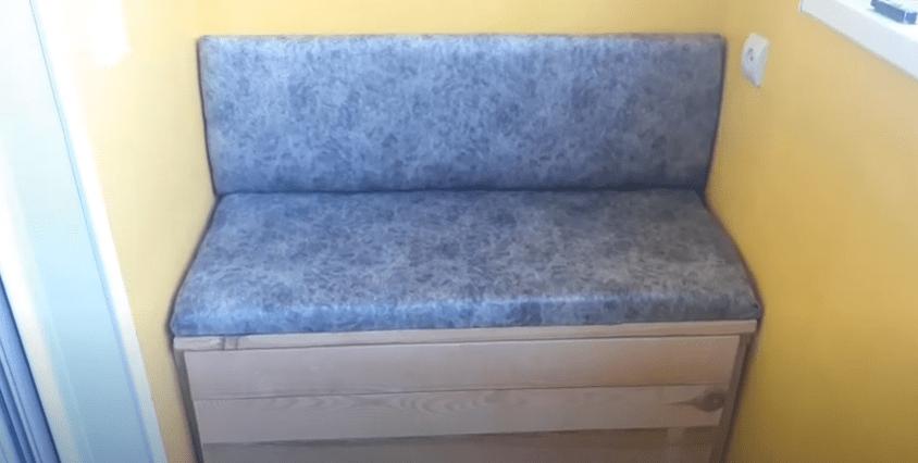 Диванчик на балкон своими руками: особенности, чертежи и схемы сборки дивана