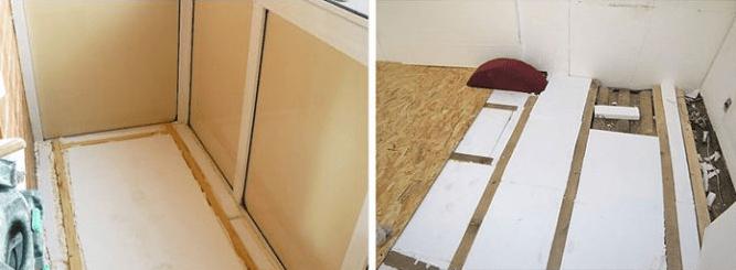 Как правильно утеплить лоджию или балкон зимой