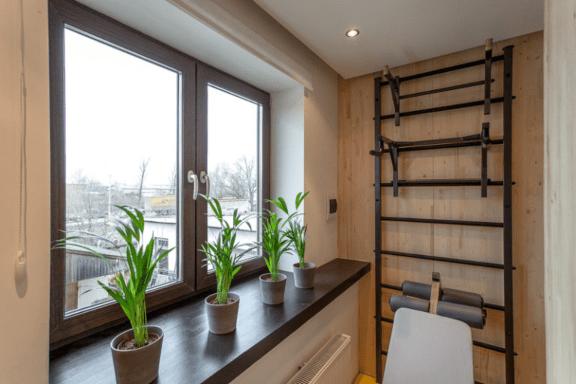 Варианты застекления балкона